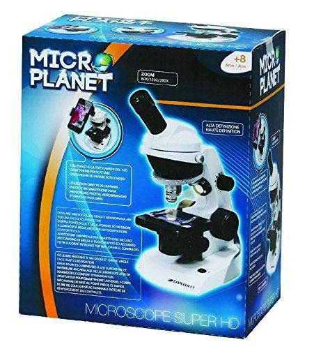 giochi preziosi rdf51009 miicroplanet microscopio digitale 360hd funz smartphone