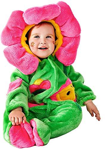 Costume di carnevale da dolce fiorellino vestito per neonato bambino 3-12 mesi travestimento veneziano halloween cosplay festa party 88085 taglia 6-9