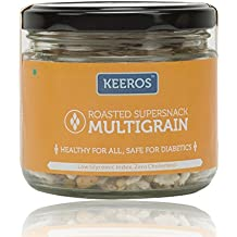 Keeros Healthy Mix of Supersnack Roasted Soyabean, Green Pulses, Pearl Millet, Dew Beans, White Wheat, Rice Flakes, 100g