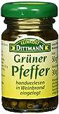 Feinkost Dittmann Grüner Pfeffer in Weinbrand eingelegt Glas, 4er Pack (4 x 50 g)