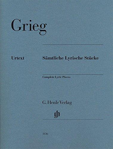 Sämtliche Lyrische Stücke für Klavier