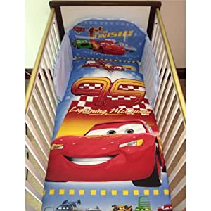 Disney Pixar Cars Lightning McQueen Bedding Set for Cot or ...