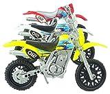 Set di 3 Toy Moto - Random Colours - Formato approssimativo 15cm - Boys Toys