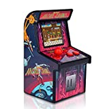 Docooler Mini Arcade Spiele Retro kleines Videospiel Arcade Cabinet für Kinder tragbare elektronische Handheld-Gaming-Konsole mit 200 klassischen Spielen Rose Red