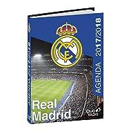 Quo Vadis–Agenda scolastica Real Madrid–Settembre 2017A Agosto 2018–12x 17cm