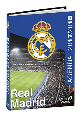 Quo Vadis - Agenda Scolaire Real Madrid - Septembre 2017 à Août 2018 - 12x17 cm