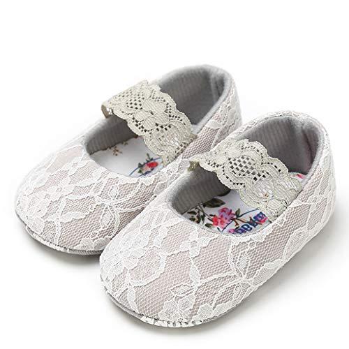 105f33e56f858 Moonuy Toddler Bébé Filles Chaussures en Dentelle Nouveau-Né De Mode Bout  Rond Chaussures Douces