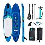 AZTRON Mercury 10.10 Inflatable Sup Stand Up Paddle Board Set Oferta, Board+Style ALU Paddel+Leash