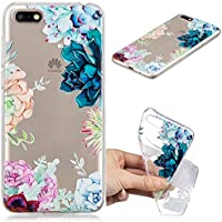 Everainy Huawei Y5 2018/Huawei Y5 Prime 2018 Hülle Silikon Transparent Gummi Cover Hüllen für Huawei Y5 2018 Handyhülle... preisvergleich bei billige-tabletten.eu