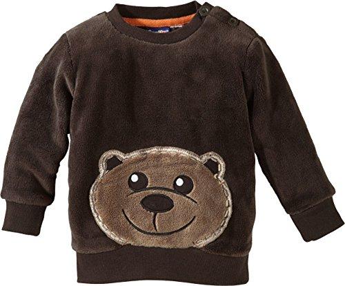 """LUPILU® Baby Teddypullover \""""Bärchen\"""" (Braun, Gr. 74/80)"""