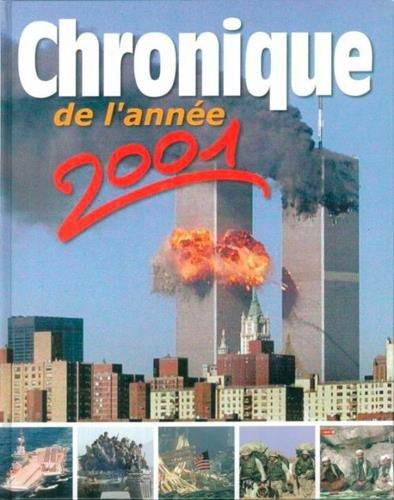 Chronique de l'année 2001 par Michel Marmin