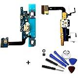 Dock Connector para Samsung Alpha G850F Puerto de carga Flex Cable USB Charger incluye 7accesorios de herramientas Set