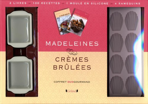 COFFRET MADELEINES/CREMES BRUL
