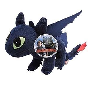 enorme peluche xxl dragons sdentato furia buia gigante. Black Bedroom Furniture Sets. Home Design Ideas
