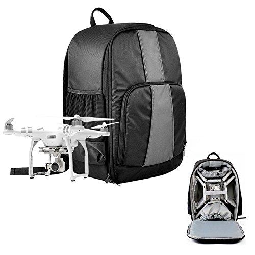 Caden Multifunktions-Wasserdichte Universal UAV Drones Rucksack Tasche für Quadcopter Drone und Canon, Nikon, Sony, Olympus, DSLR SLR Kameras, passen alle DJI Phantom 4/3/2 Serie, GoPro Kameras