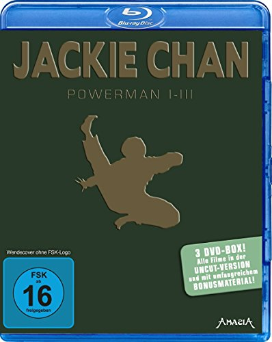 Jackie Chan - Powerman 1-3 [Blu-ray] (Chan Blu-ray Jackie Collection)