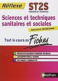 Sciences et techniques sanitaires et sociales 1e et Tle ST2S