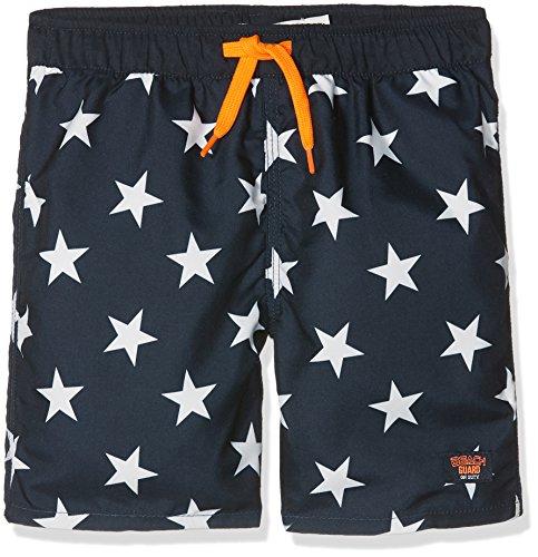 NAME IT Nmmzesper Long Shorts W/o Shield, Bañador Niños, Dark Sapphire Dark Sapphire, 125 Talla...