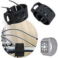 DURAGADGET Soporte Para Smartwatch Mobiper G08 / Wiseup GT08 Para Manillar De Bicicletas