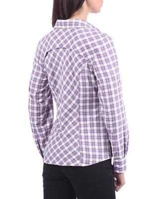Columbia Damen Bluse Long Sleeve Trek Check