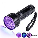 UV Taschenlampe Schwarzlicht Mobiler Geldscheinprüfer UV 51 LED Taschenlampe UV Lampe
