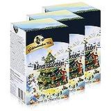 Goldmännchen-Tee Adventskalender mit 24 Teesorten 50g Tanne (3er Pack)