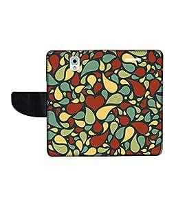 KolorEdge Printed Flip Cover For Samsung Galaxy Note 3 Multicolor - (55KeMlogo10283SamNote3)
