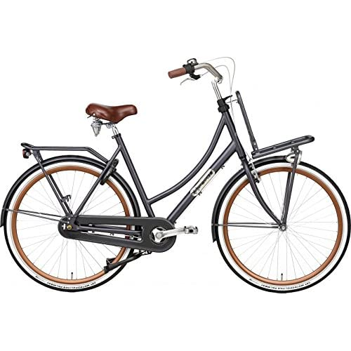 51AonMSG%2BnL. SS500  - Daily Dutch Prestige 28 Inch 50 cm Woman 7SP Coaster Brake Petrol Blue