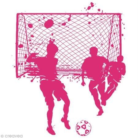 Rayher 4505000, Fußball, DIN A4, 1 Schablone mit Rakel im SB-Btl. -