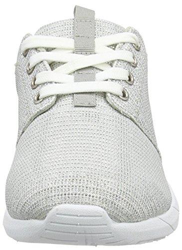 Supremo - Damenschuhe, Scarpe da ginnastica Donna Argento (Argento (Silver))