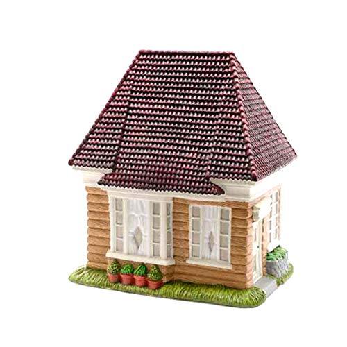 Bloom \'its Mini-Garten Haus Holzhaus 21 x 17 x 13 cm Minigarten Mini Garten Miniatur Deko