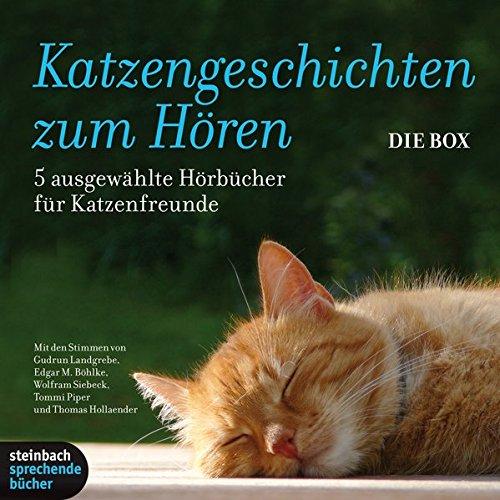 Preisvergleich Produktbild Katzengeschichten zum Hören: 5 Hörbücher für Katzenfreunde. 7 CDs
