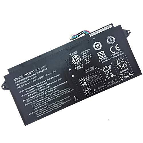 XITAI 7.4V 35Wh AP12F3J 2ICP3/65/114-2 Batteria di Ricambio per ACER Aspire 13.3-Inch S7 S7-391 Touchscreen Ultrabook 2ICP3/65/114-2