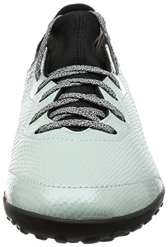 adidas Herren X 16.3 Cage Fußballschuhe Grün (Vapour Green /Core Black/Gold Met.)