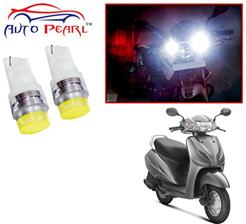 Auto Pearl - LED Parking Bulb Pilot Light / Daytime Running Lens Led Light (6060) For - Honda Activa 3G  available at amazon for Rs.299