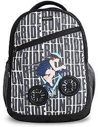 Priority Aeon 40 LTR Black Casual School | College Backpack Bag