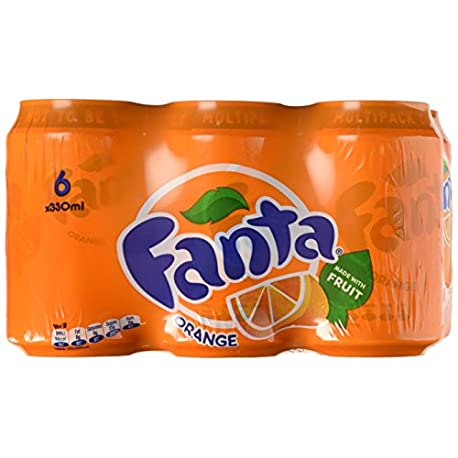 FANTA ORANGE 24X330ML CAN VRBFANTA