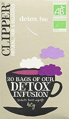 Clipper Infusion Détox Biologique 20 infusettes
