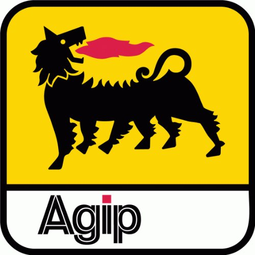agip-car-bumper-sticker-12-x-12-cm