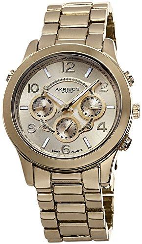 Akribos XXIV Reloj con movimiento cuarzo suizo Woman AK648YG 40 mm