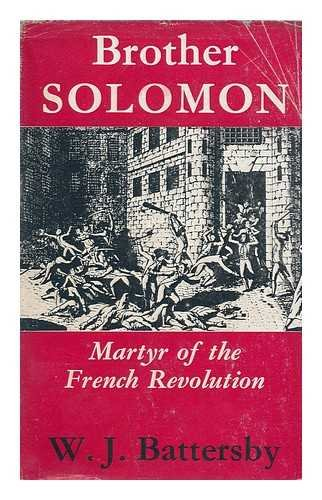 Title: Brother Solomon Martyr of the French Revolution