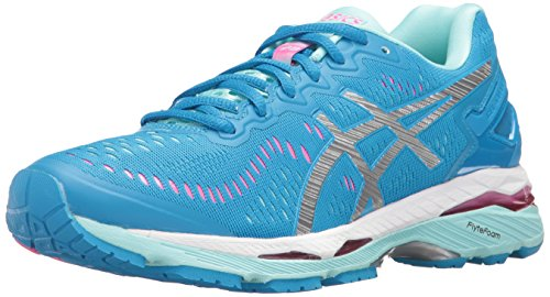 Asics Gel-kayano 23 - Zapatillas de running para mujer azul Cockatoo/Safety Yellow/Lapis