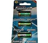 3 x 4LR44 6V ( 1 Blister a 3 Batterien ) Quecksilberfreie Alkaline Batterien PX28, 4G13, 476A, L1325 Markenware EUNICELL