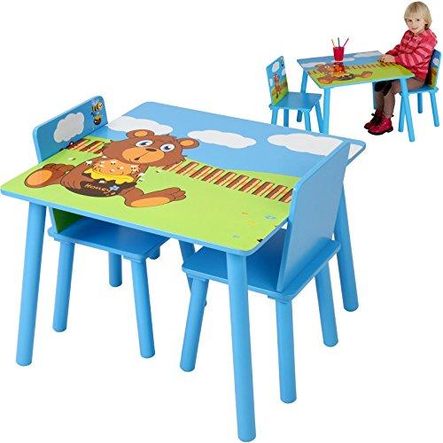 Sedie E Tavoli In Legno Per Bambini.Infantastic Tavolo E Sedie Bambini Cameretta Set Tavolo Con 2 Sedie