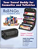 4 COMPARTMENT ROLL N' GO COSMETIC/TOILETRY/JEWELRY BAG by Roll 'N Go