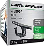 Anhängerkupplung Starr Rameder komplett-Kit + 13POL Elektrische für Skoda Yeti (112970â 08486â 1)