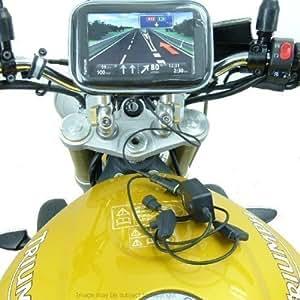 imperméable HELLA / DIN alimenté Moto support pour TomTom Start 60 ( SKU 17360)