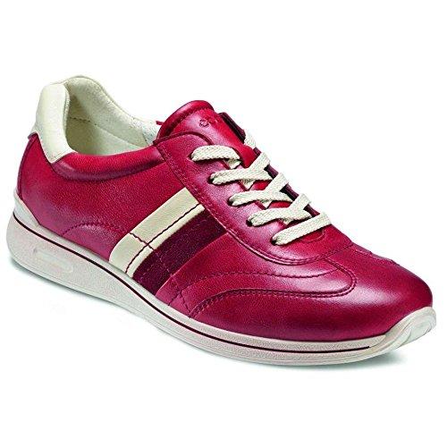 Ecco - comodo da donna con lacci scarpa Mobile II di Ecco Rosso (rosso)