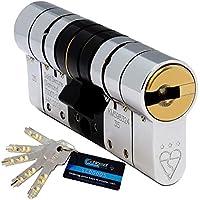 Schlosser Technik TS007 - Cilindro europeo de alta seguridad (5 llaves)