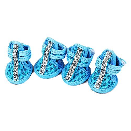 zhhlaixing-sandales-a-chien-4pcs-non-slip-velcro-closure-pet-dogs-puppy-sandals-paw-protector-dog-bo